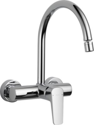 Ixa Jive Single Handle On Wall Kitchen Faucet