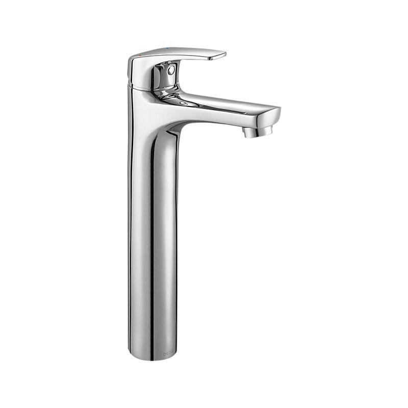 44025-P Ixa Soft Single Handle Bathroom with Riser : Bath