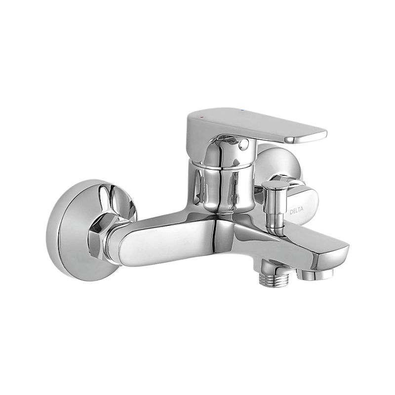 SQVO Delta On Wall Tub And Shower Valve Only Bath - Bathroom faucet and accessories set