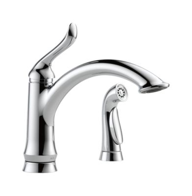 Linden Single Handle Kitchen Faucet with Spray