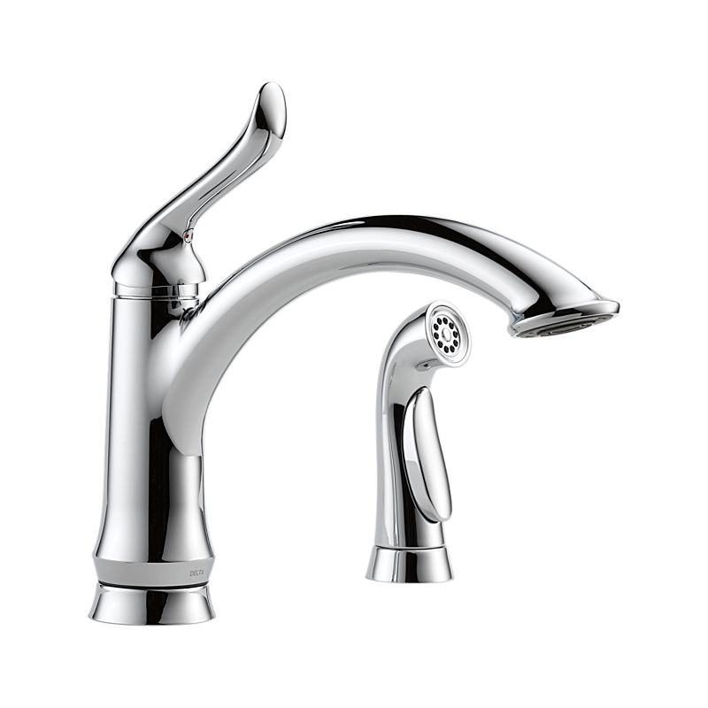4453 Dst Linden Single Handle Kitchen Faucet With Spray