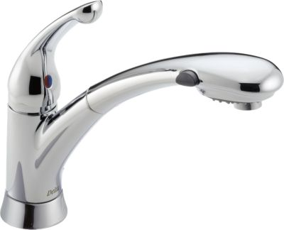 Signature® Single Handle Pull Out Kitchen Faucet