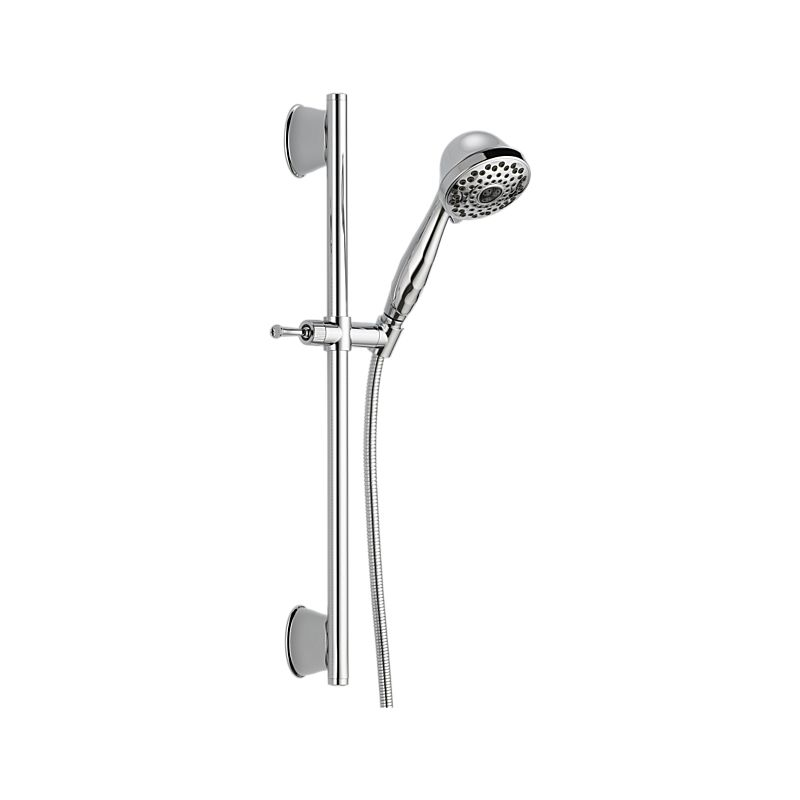 51589 Delta 7-Setting Slide Bar Hand Shower : Bath Products : Delta ...