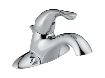 Classic Single Handle Lavatory Faucet - Metal Pop-Up