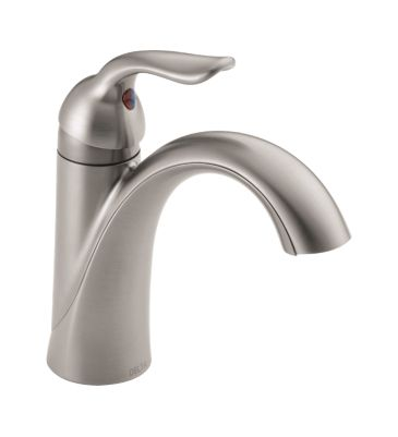 Lahara Single Handle Lavatory Faucet - Metal Pop-Up