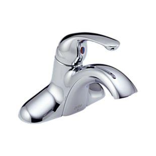 Classic Single Handle Centerset Lavatory Faucet - Less Pop-up
