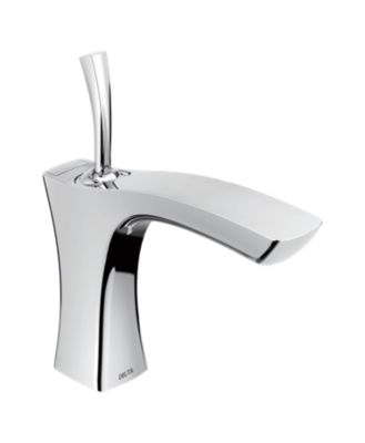 Tesla Single Handle Lavatory Faucet - Metal Pop-Up