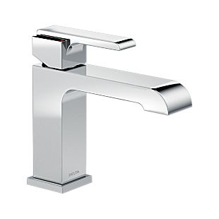 Ara® Single Handle Lavatory Faucet- Less Pop-Up