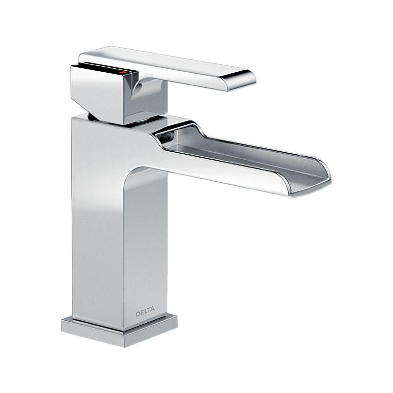 in p chrome centerset faucet ppu faucets bathroom eco sink foundations handle delta