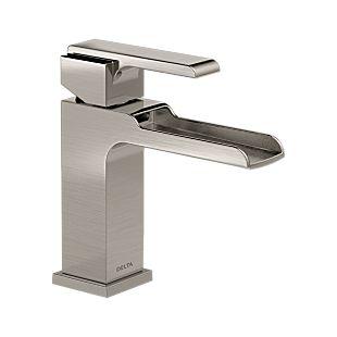 Ara Single Handle Channel Bathroom Faucet