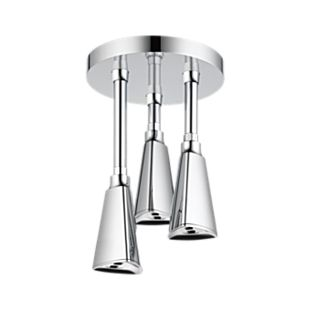 Zura H2Okinetic Pendant Raincan Shower Head