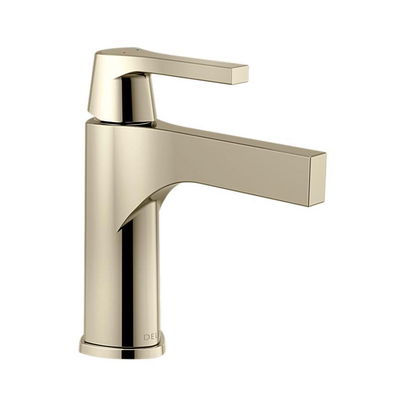 sink faucets bathroom brushed centerset faucet polished handle delta p nickel single rila sp spotshield in