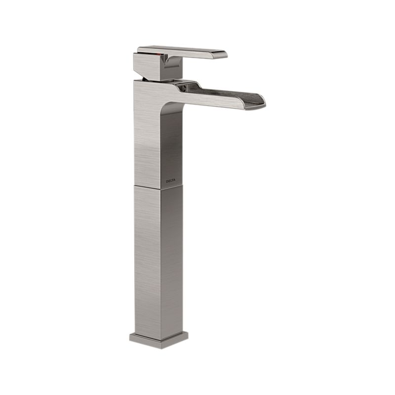 finish waterfall sink faucet design elite bathroom single of chrome lever faucets vessel