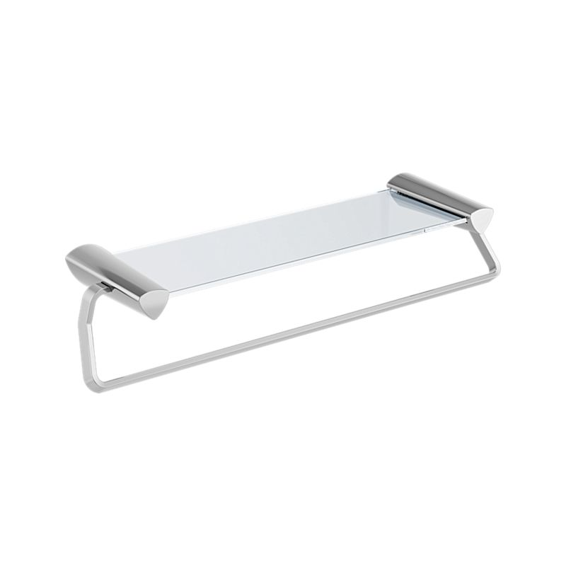 77480 Zura 24″ Towel Bar with Glass Shelf : Bath Products : Delta Faucet