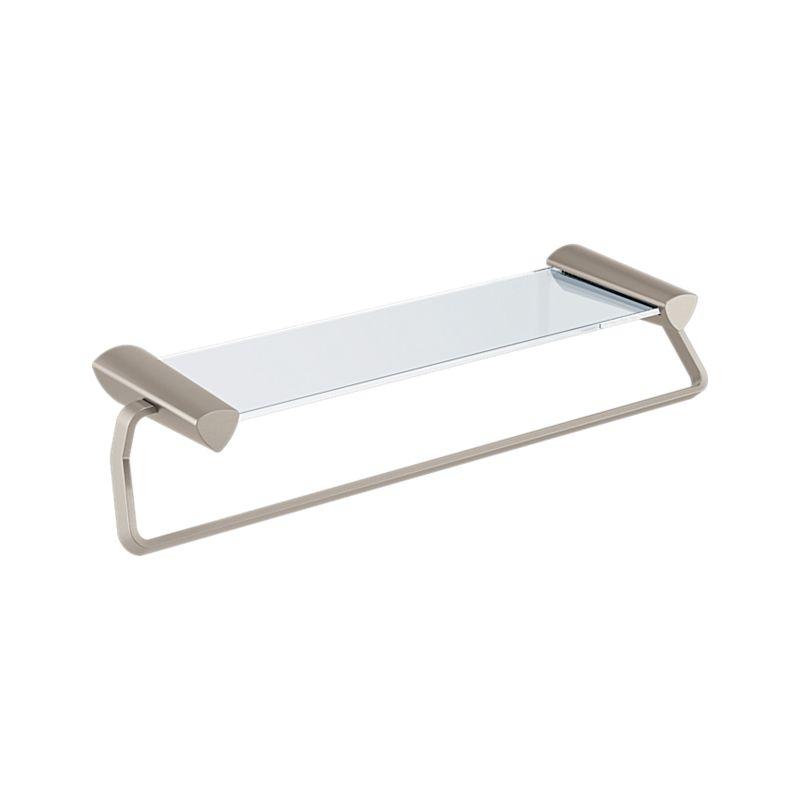 77480-SS Zura 24″ Towel Bar with Glass Shelf : Bath Products : Delta ...