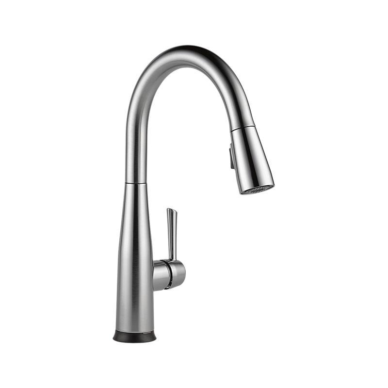 9113t Ar Dst Essa Single Handle Pull Down Kitchen Faucet
