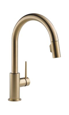 9159 Cz Dst Trinsic Single Handle Pull Down Kitchen Faucet