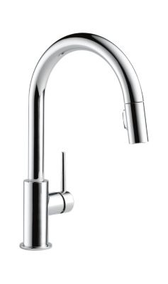 9159 Dst Trinsic Single Handle Pull Down Kitchen Faucet Kitchen
