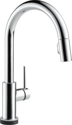 Trinsic® Single Handle Pull Down Kitchen Faucet With Touch2O Technology