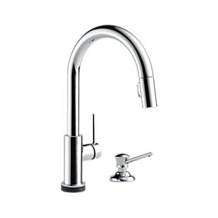 Trinsic® Single Handle Pull-Down Kitchen Faucet with Touch2O Technology