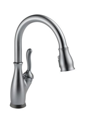 Leland Single Handle Pull-Down Kitchen Faucet with Touch2O