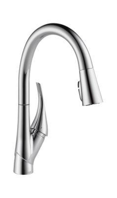 Esque Single Handle Pull-Down Kitchen Faucet with ShieldSpray Technology
