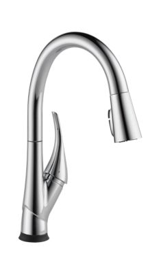 Single Handle Pull-Down Kitchen Faucet with Touch2O and ShieldSpray Technologies