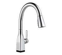 Single Handle Pull-Down Kitchen Faucet with Touch2O Technology and ShieldSpray