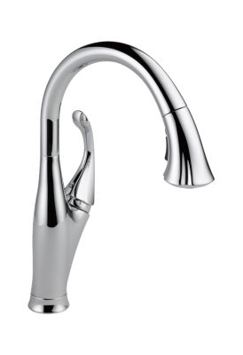 Single Handle Water Efficient Pull-Down Kitchen Faucet