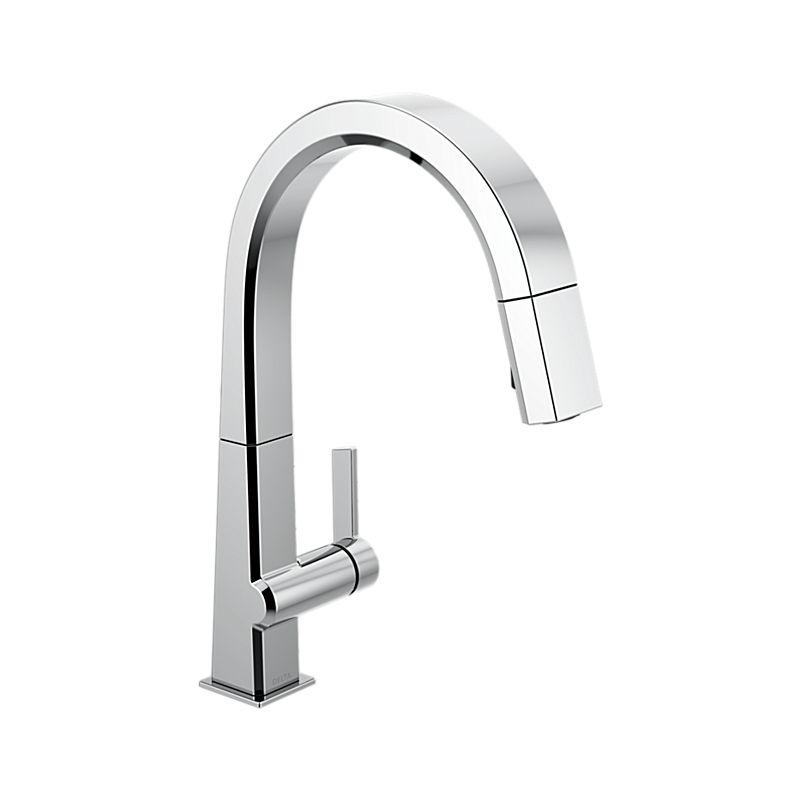 9193 Dst Pivotal Single Handle Pull Down Kitchen Faucet Kitchen