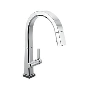 Pivotal Single Handle Pull Down Kitchen Faucet with Touch2O Technology