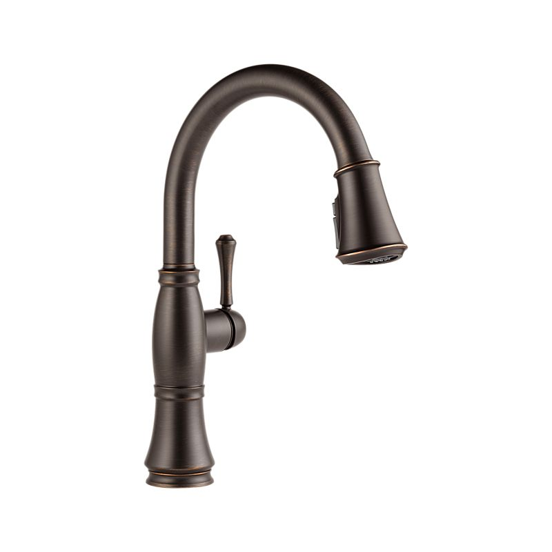 9197-RB-DST Cassidy™ Single Handle Pull-Down Kitchen Faucet with ...