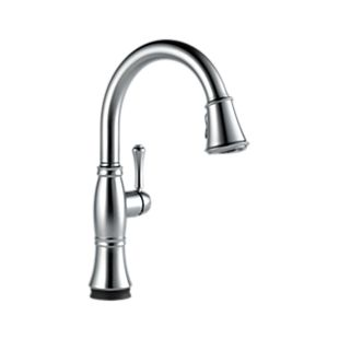 Cassidy Single Handle Pull Down Kitchen Faucet with Touch 2O
