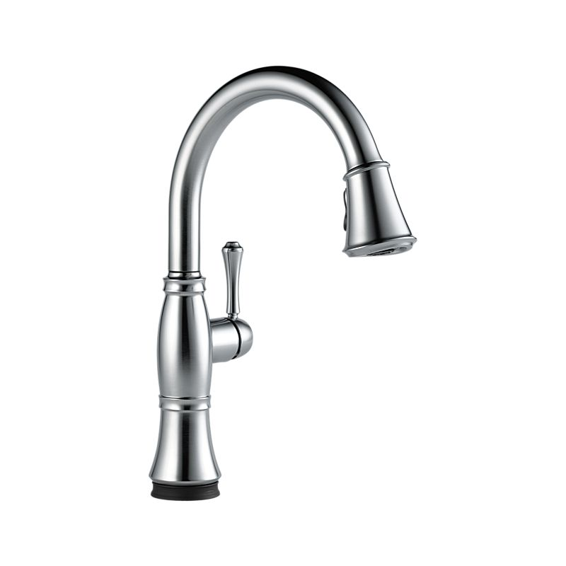 in delta p down handle with pull faucet spray steel kitchen sprayer izak faucets stainless ss dst single