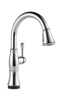 9197t Dst Cassidy Single Handle Pull Down Kitchen Faucet With