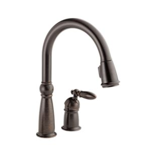 Victorian Single Handle Pull-Down Kitchen Faucet