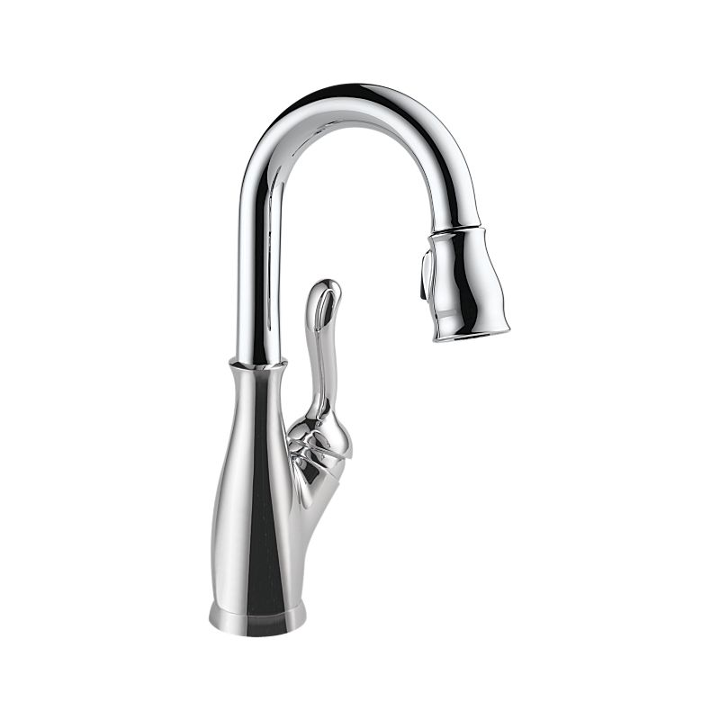 9678-DST Leland® Single Handle Pull-Down Bar / Prep Faucet : Kitchen ...