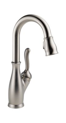 Leland Single Handle Pull-Down Bar / Prep Faucet