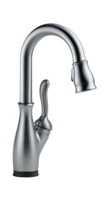 Leland Single Handle Pull-Down Bar / Prep Faucet with Touch2O Technology