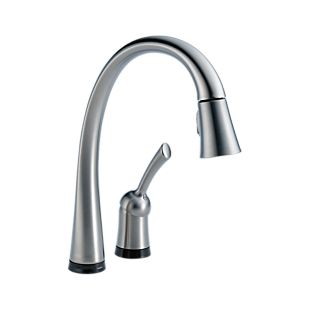 Pilar® Single Handle Pull-Down Kitchen Faucet with Touch2O® Technology