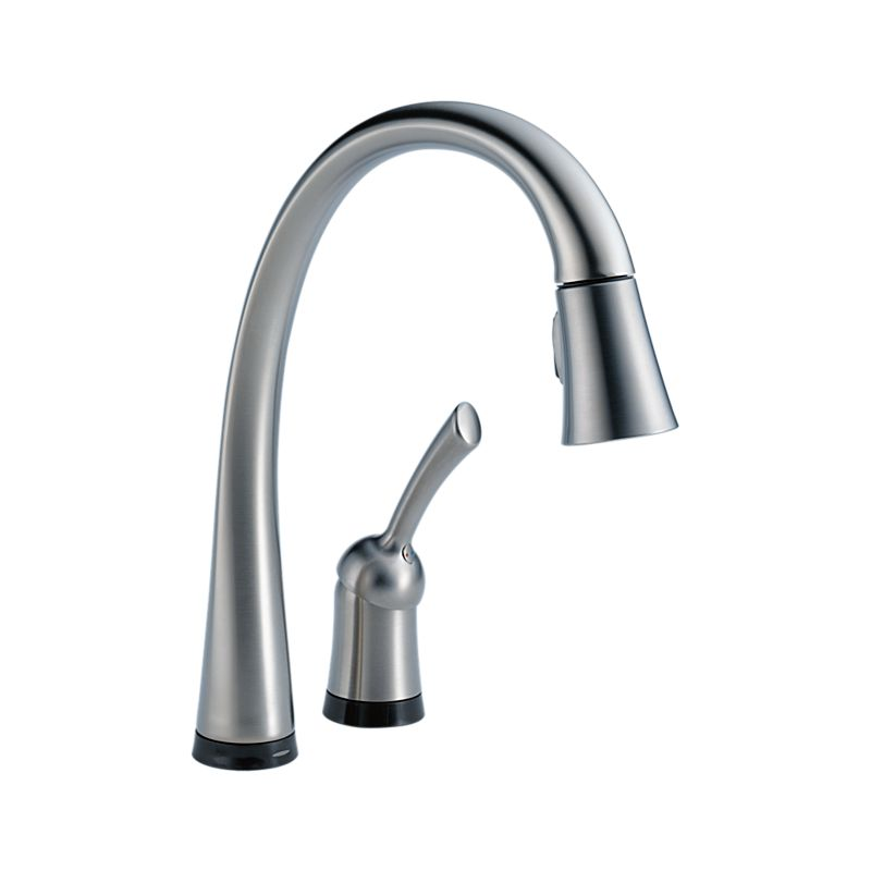 down pilar activated touch to kitchen pull delta pertaining faucet with inspirations