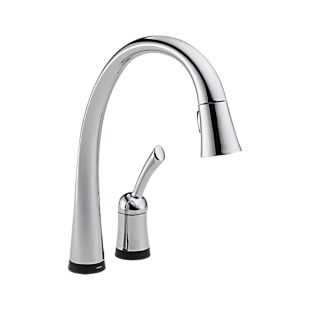 Pilar® Single Handle Pull-Down Kitchen Faucet with Touch2O Technology