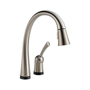 Pilar Single Handle Pull-Down Kitchen Faucet with Touch2O Technology