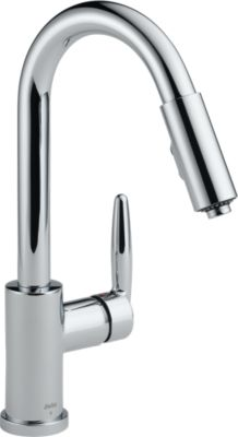 Grail® Single Handle Pull Down Kitchen Faucet
