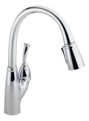 Allora Single Handle Pull-Down Kitchen Faucet