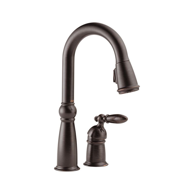 9955-RB-DST Victorian™ Single Handle Pull-Down Bar / Prep
