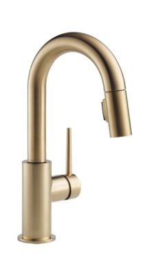 Trinsic Single Handle Pull-Down Bar / Prep Faucet