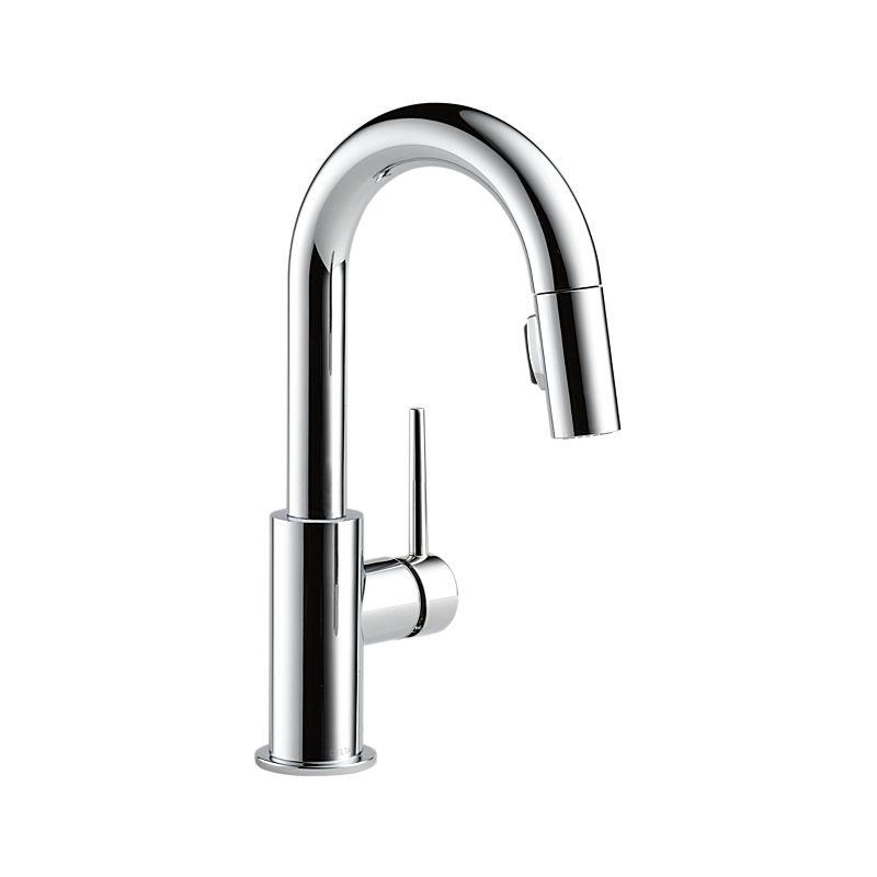 Trinsic Single Handle Pull Down Bar Prep Faucet
