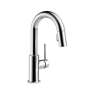 Trinsic Single Handle Pull-Down Bar/Prep Faucet
