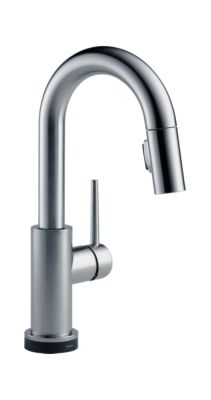 Single Handle Pull-Down Bar/Prep Faucet Featuring Touch2O Technology